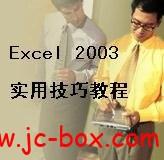 Microsoft Office Excel 2003实用技巧教程