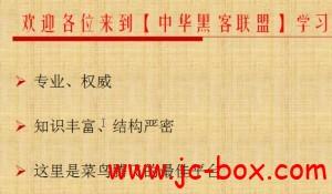 中华黑客联盟C语言高级编程VIP培训教程