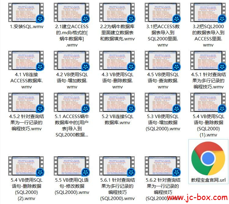 VB梦工厂VB操作SQL2000和操作access版(HK共享吧本身缺课多少未知)